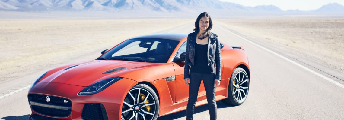 VIDEO: Michelle Rodriguez Reaches 322km/h In New Jaguar F-TYPE SVR