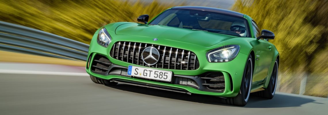 The New Mercedes Benz AMG GT R In Pictures