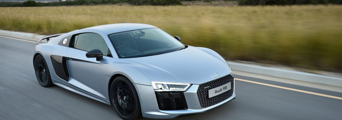 The New Audi R8 V10 Plus In Pictures