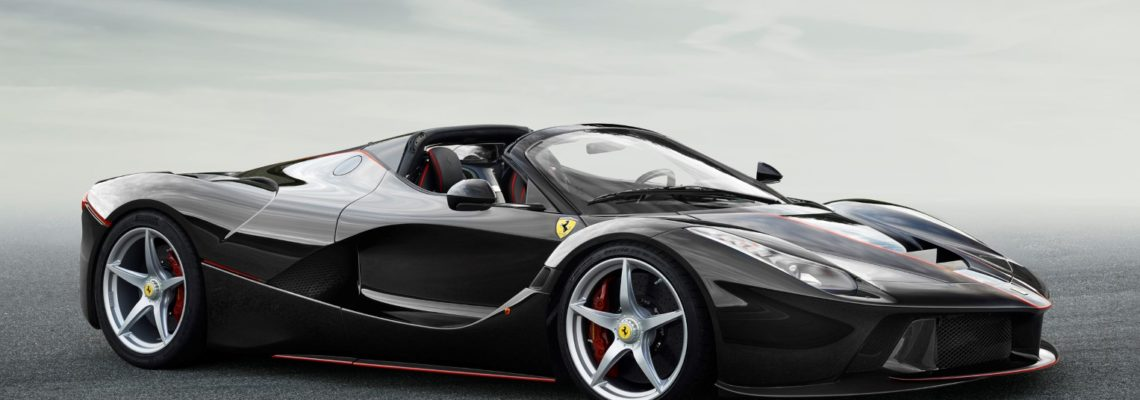 Revealed – The First Photographs Of The Open-top LaFerrari