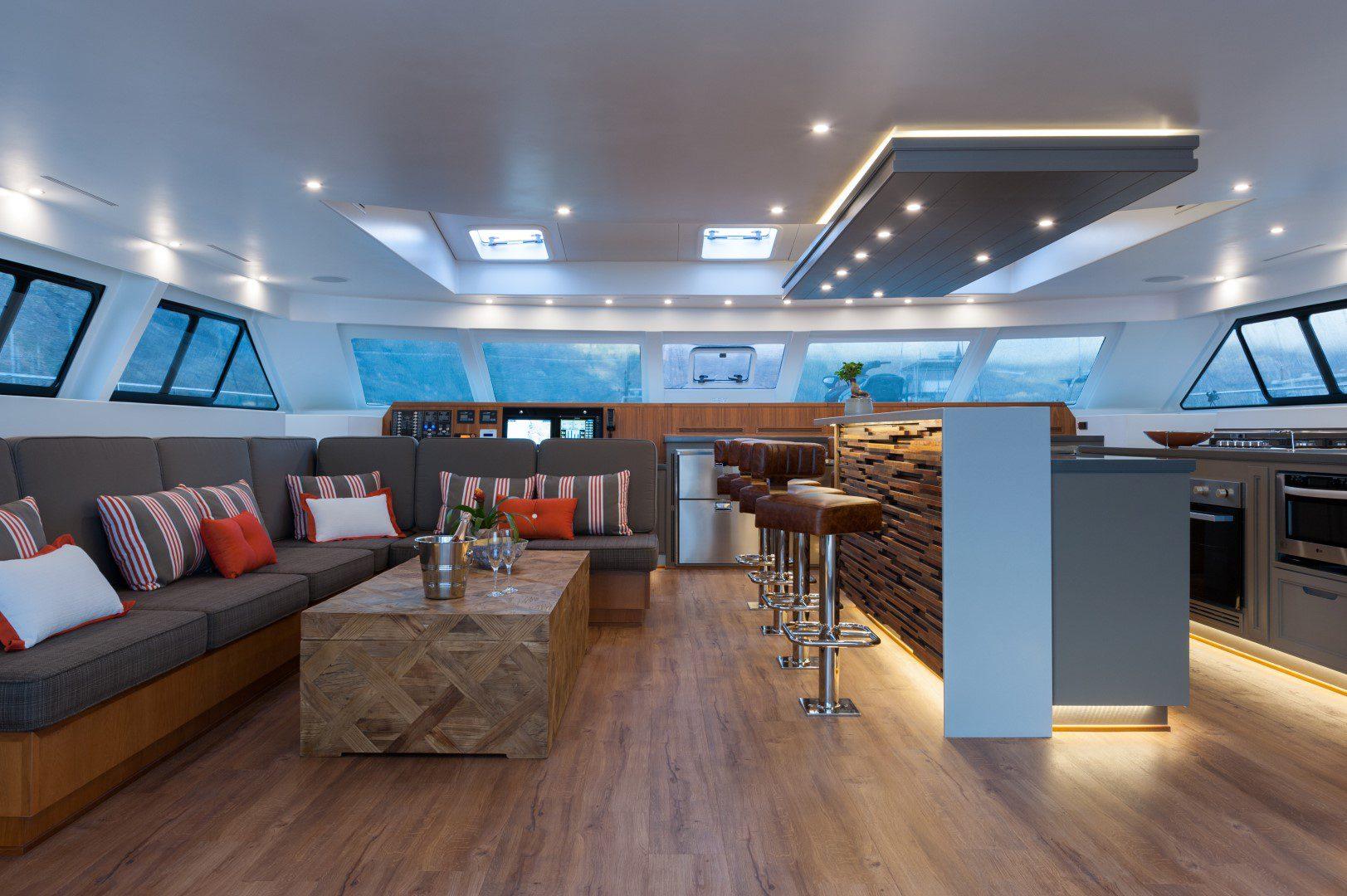 New Luxury Open Ocean Catamaran Takes To The Seas