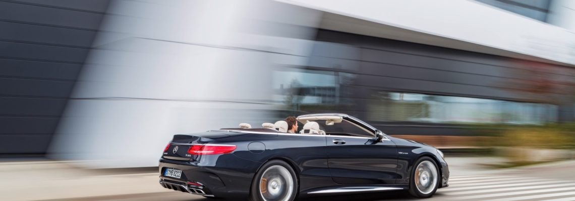 The New Mercedes-AMG S 65 Cabriolet