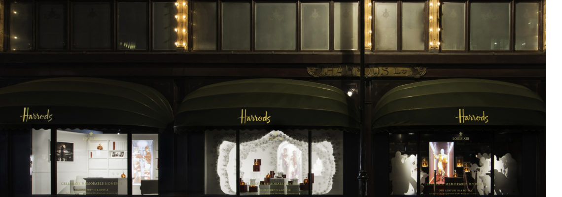 LOUIS XIII LAUNCHES FIRST POP-UP BOUTIQUE AT HARRODS CELEBRATING MEMORABLE LIFE MOMENTS