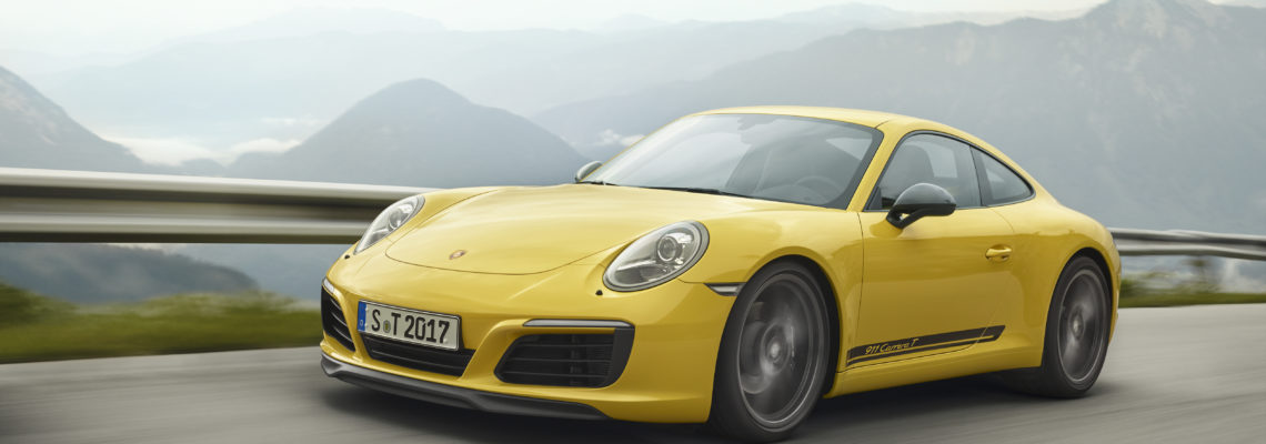 Less Is More – The New Porsche 911 Carrera T