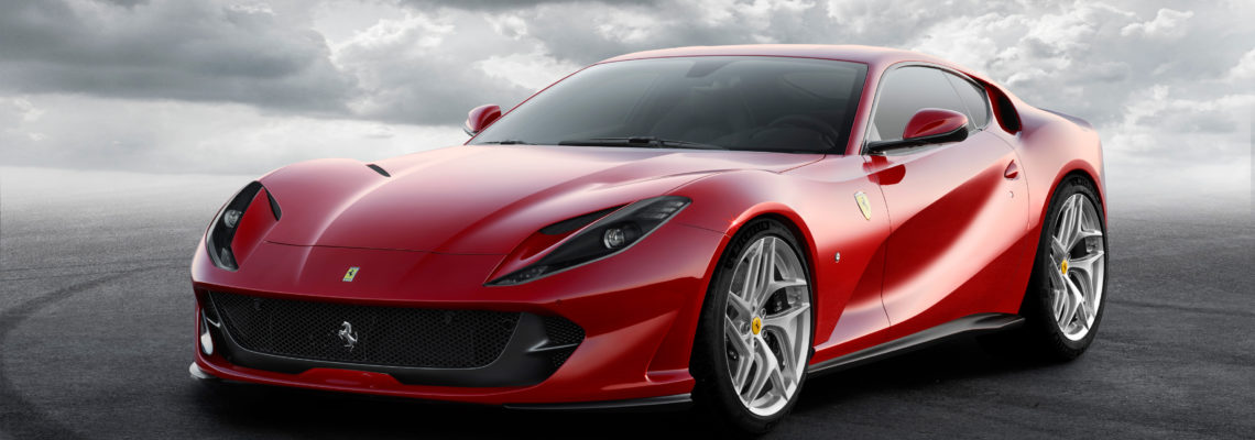 Official Ferrari 70th Anniversary Celebrations Take-off In South Africa, Featuring The 812 Superfast