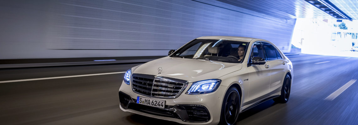 The All New S-Class Mercedes