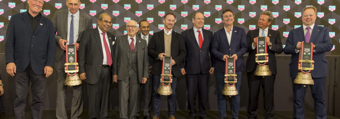 Key Players From The Motor Racing World Brought Together By TAG Heuer