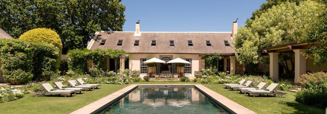 Luxurious 'La Rive' Villa Opens In The Cape Winelands