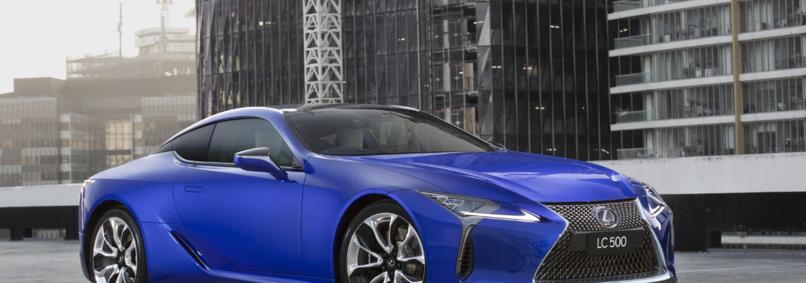 Lexus Draws Inspiration From Shimmering Blue Of A Butterfly Wings
