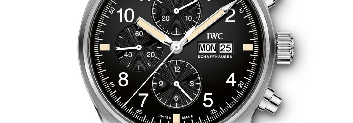 IWC RETURNS TO THE ICONIC DESIGN OF THE FIRST PILOT'S WATCH CHRONOGRAPH