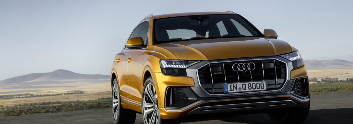 Audi Launches The Audi Q8 – The New Face Of The Q Family