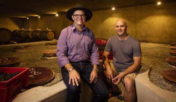 Avondale Proprietor, Johnathan Grieve, And Winemaker, Corné Marais