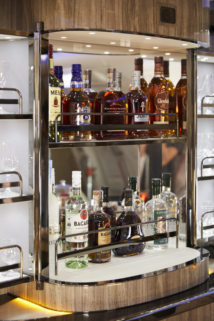 Emirates revamped its spirits offering across all classesEmirates revamped its spirits offering across all classes