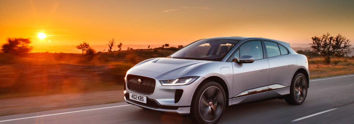 All Electric Jaguar I-pace