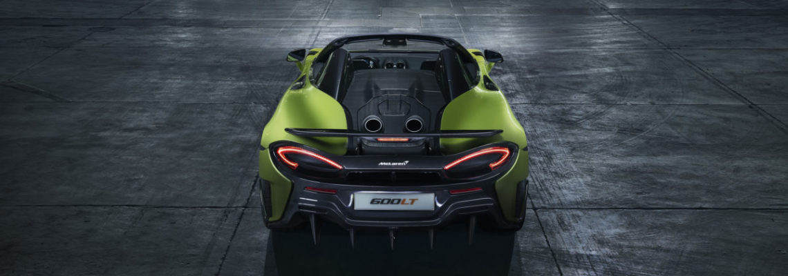 McLaren 600LT Spider: The Sky's The Limit