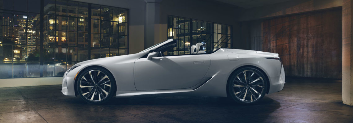 Ultimate Beauty – Lexus Reveals The LC Convertible Concept