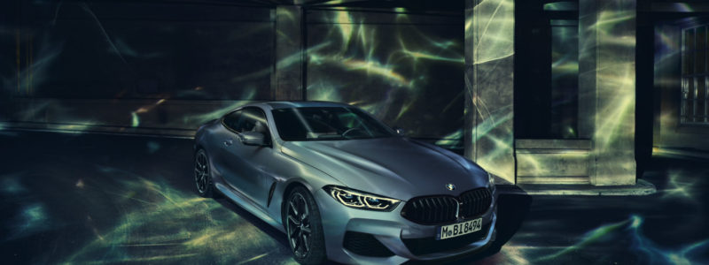 Exclusive Position In The Front Row Of The Grid: The BMW 8 Series Coupe