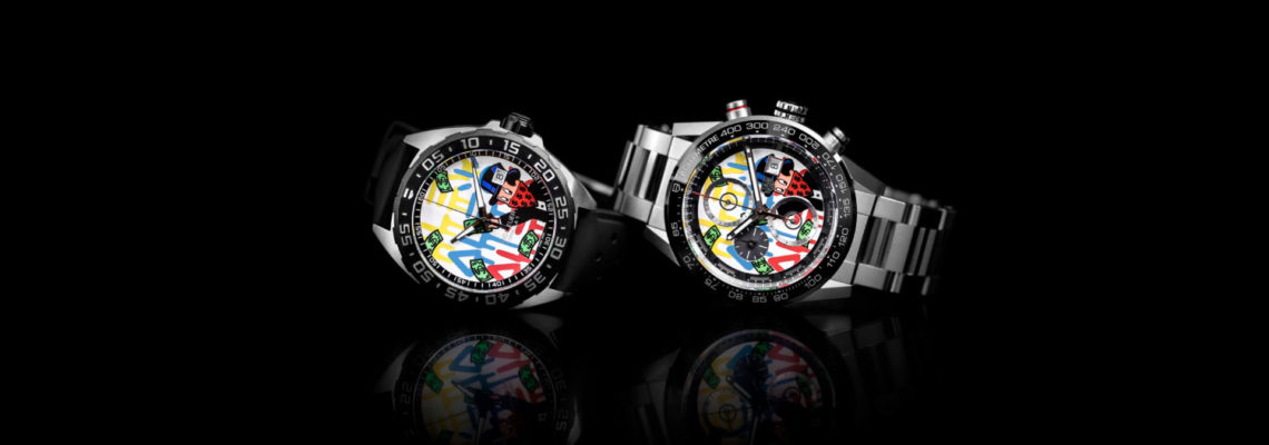 When Art Meets Time: TAG Heuer