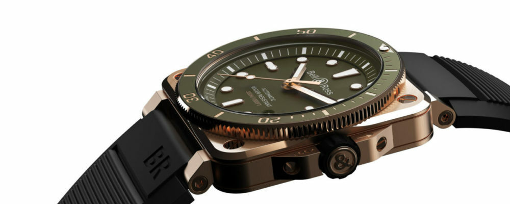 BR03 Diver Green Bronze