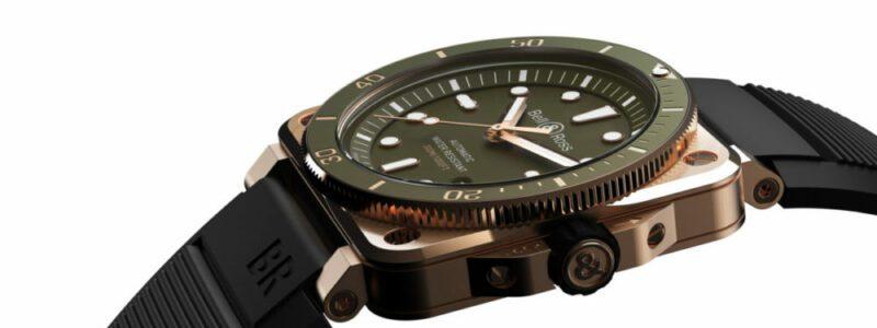BR03 Diver Green Bronze