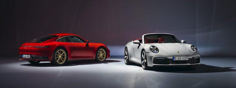 Porsche Introduces New 911 Carrera Coupé And 911 Carrera Cabriolet
