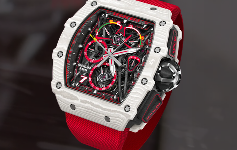 Kimi Räikkönen Receives New Special Edition Richard Mille Watch