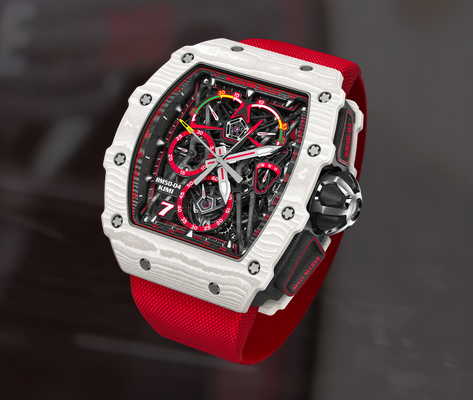 Kimi Räikkönen Receives New Special Edition Richard Mille Watch