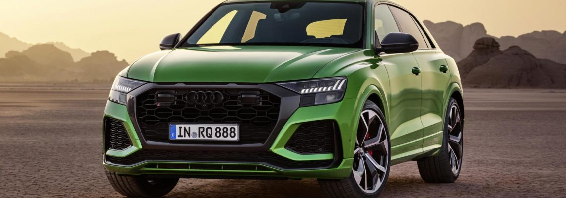 Audi's RS Q8 Breaks Water And The Nürburgring SUV Record