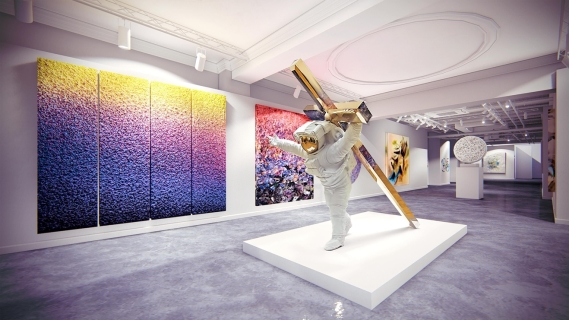 Zhuang Hong Yi Headlines Official Launch Of HOFA Gallery's New State-of-the-Art Flagship Gallery In Mayfair, London (18 March 2020)