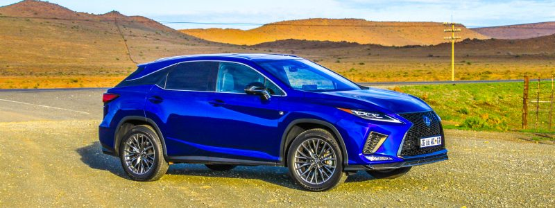 Traveling Off The Beaten Path In The Northern Cape With The Special Lexus RX 350 F-Sport
