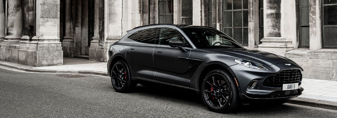 Aston Martin DBX Voted 'Best-Designed Car Of The Year' By The Sunday Times