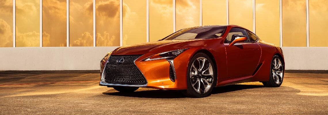 Lexus LC 500 Welcomes A Spec Change