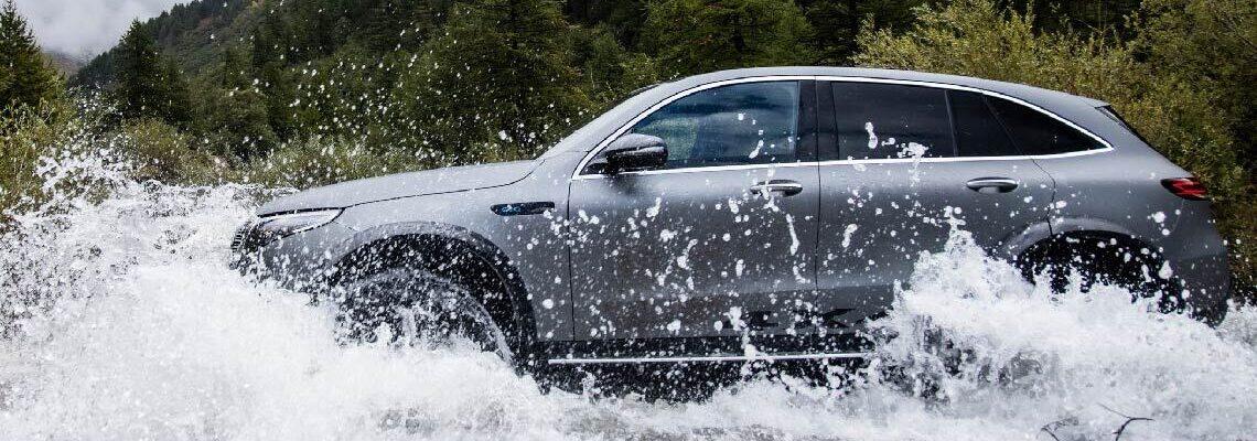 The Mercedes EQC 4×4 Squared Concept: Zero-Emission Adventuring