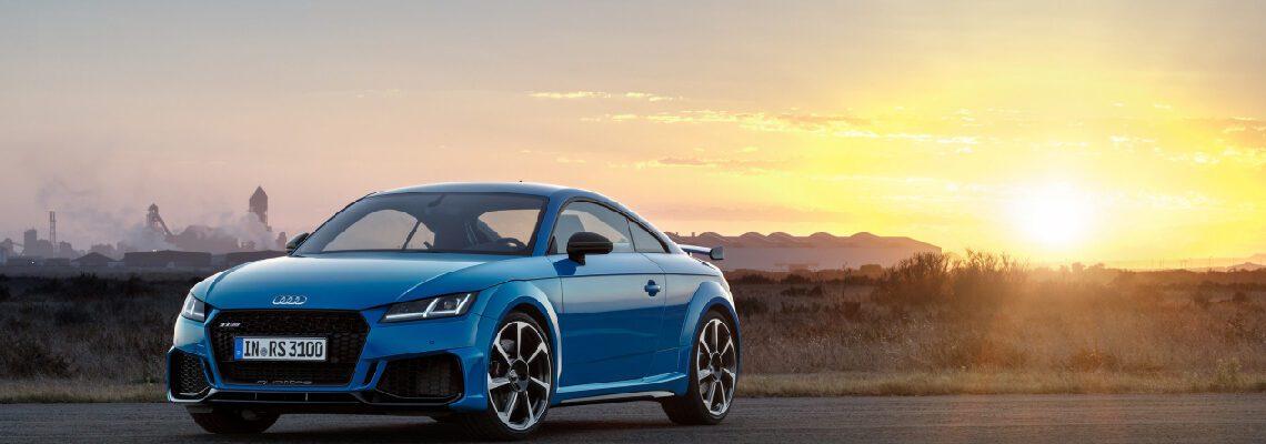 The 2020 Audi TT RS Range