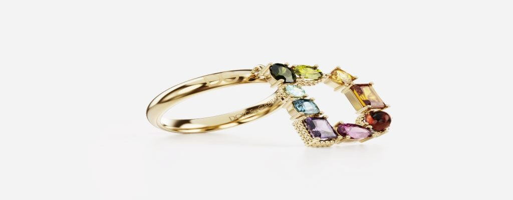DOLCE & GABBANA – FINE JEWELLERY ALPHABET COLLECTION