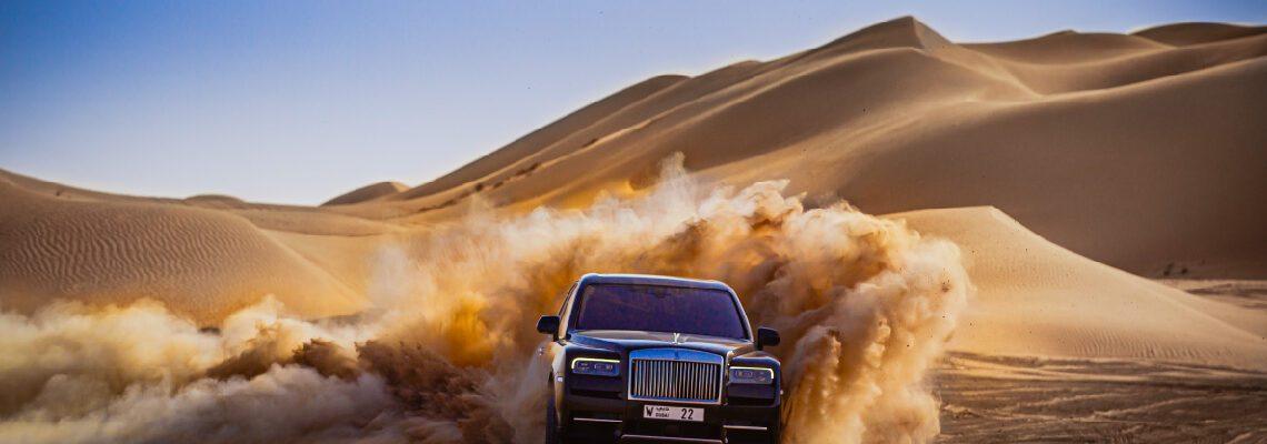Rolls-Royce Cullinan: A Desert Adventure Awaits