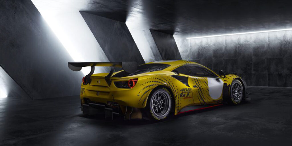 Ferrari 488 GT Modificata