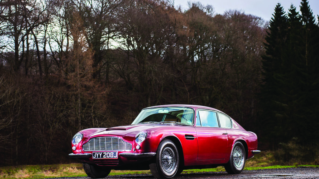 Aston Martins confirmed for Auction