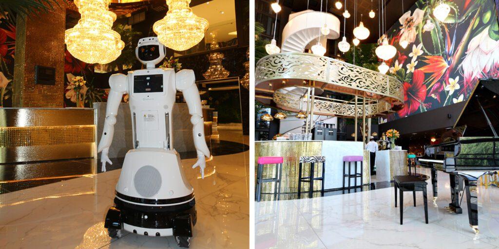 Hotel Sky Sandton Robot and Piano