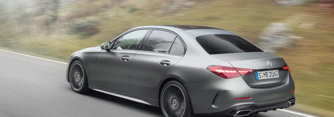 The New Mercedes C-Class: Saloon And Estate