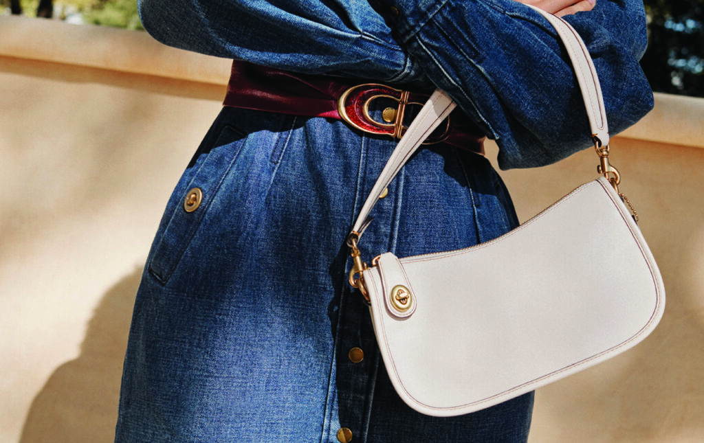 Coach Swinger Bag White