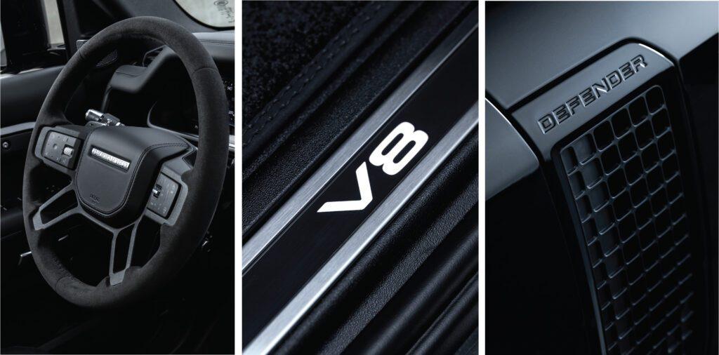 Defender V8 Interior Trim