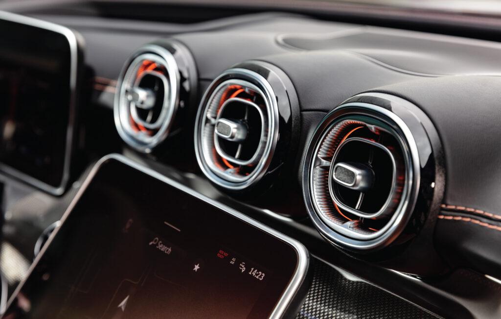 Mercedes C Class Interior