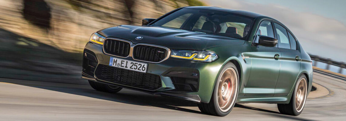 Limited Edition BMW M5 CS Is A Potent Track Weapon
