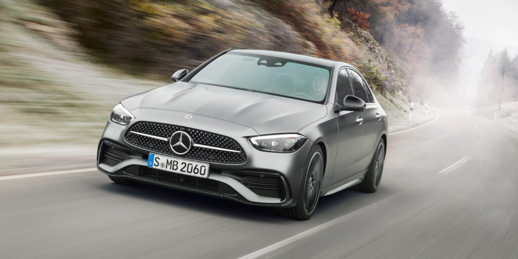 The New Mercedes C Class