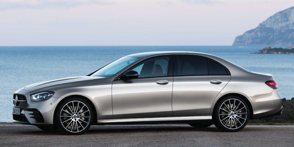 Mercedes-Benz E-Class Sedan side view