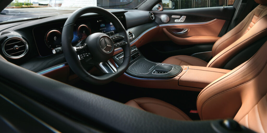 Mercedes-Benz E-Class Sedan interior