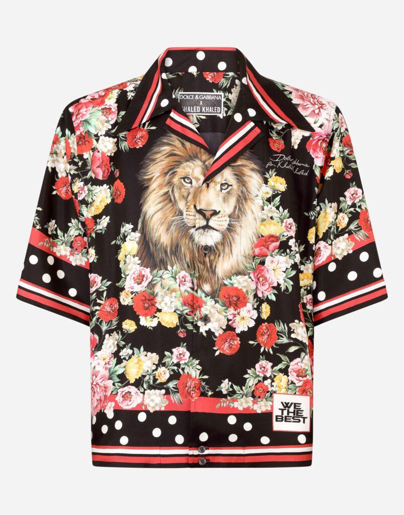 Dolce & Gabbana and DJ Khaled short shirt