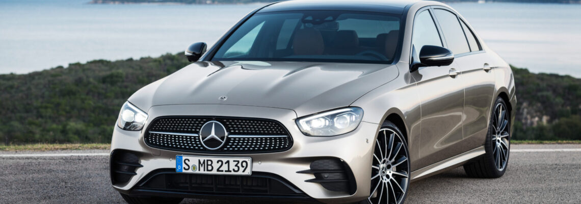 Mercedes-Benz E-Class Sedan Dazzles