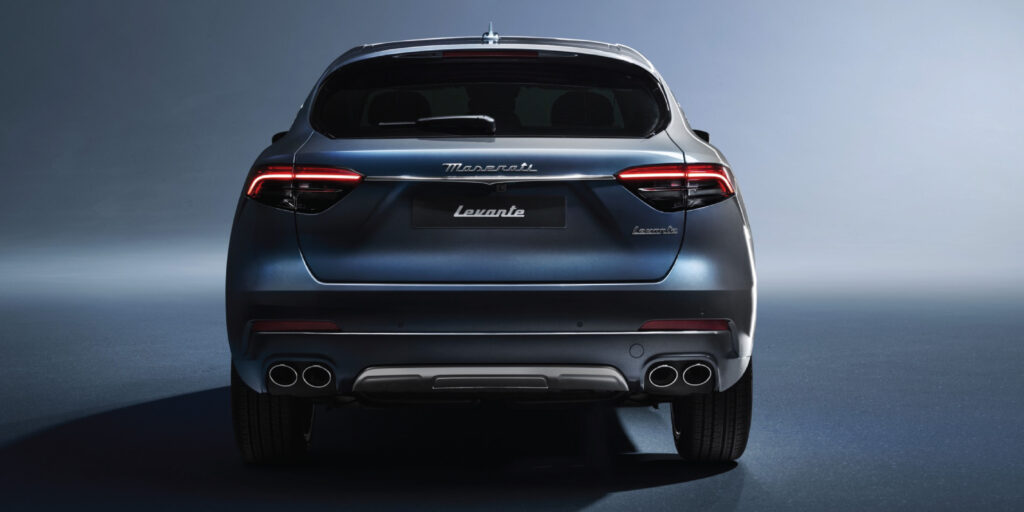 Maserati Levante Hybrid rear